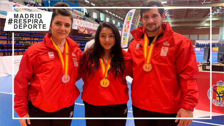 Tres colmenareños logran medallas en el Campeonato de España de Taekwondo