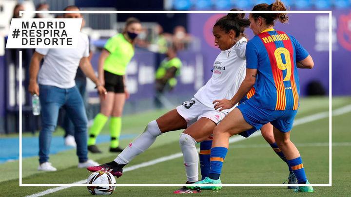 0-4. El Madrid CFF cae en semifinales de la Copa de la Reina ante el Barça