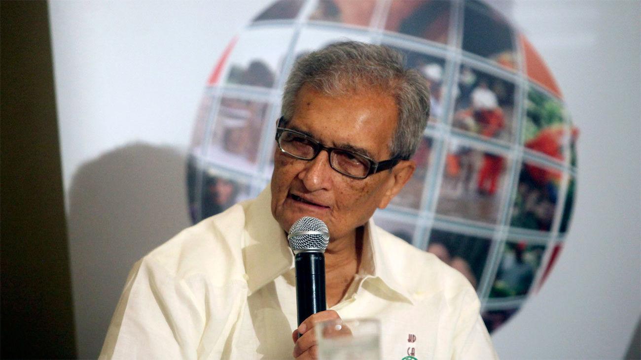 El economista indio Amartya Sen, premio Princesa Asturias de Ciencias Sociales