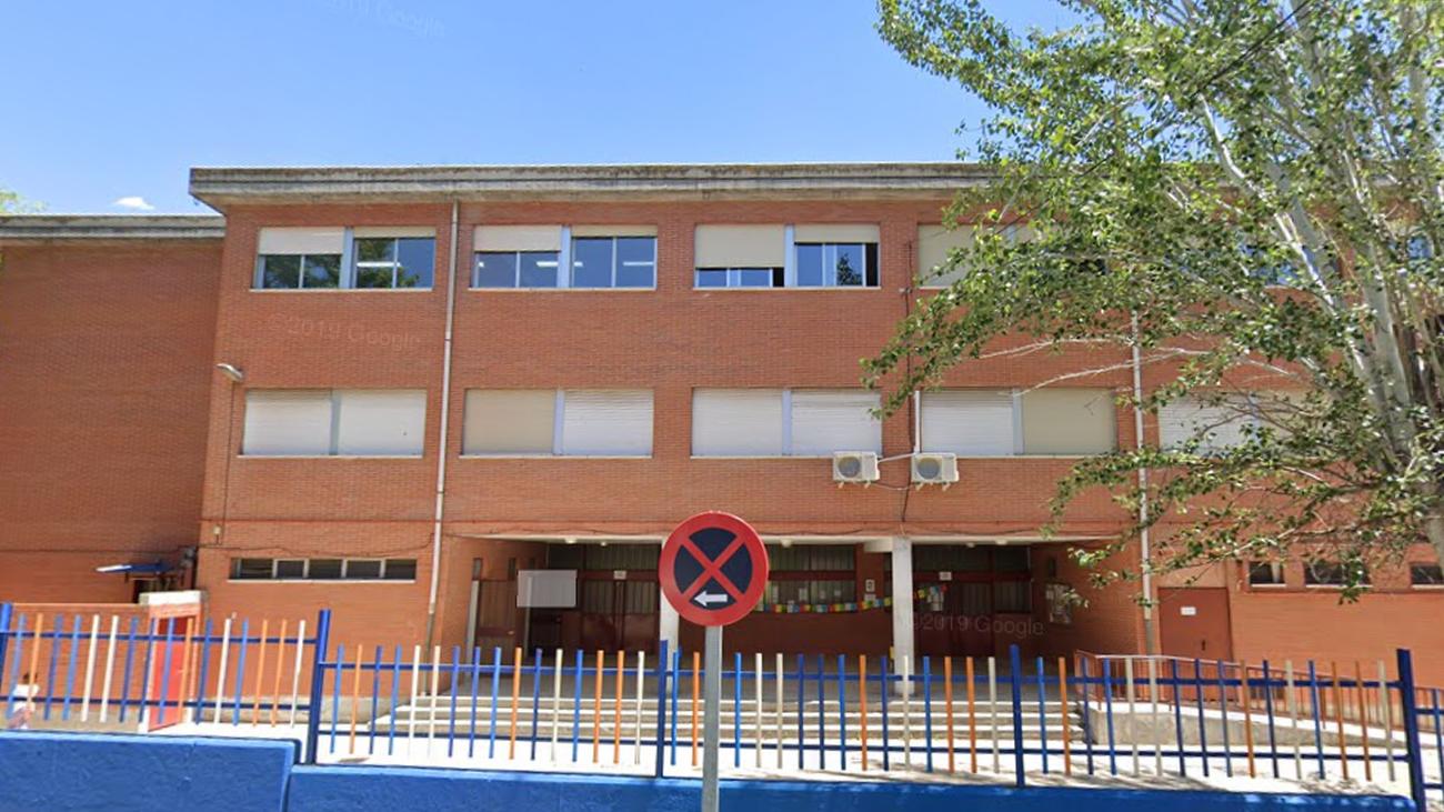 Colegio público 'León Felipe', en Leganés