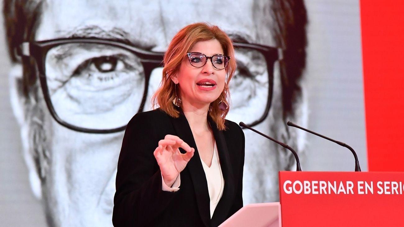 Hana Jalloul, nueva portavoz socialista en la Asamblea de Madrid