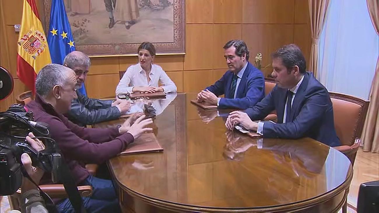 Negociación entre el Gobierno y los agentes sociales sobre los ERTEs