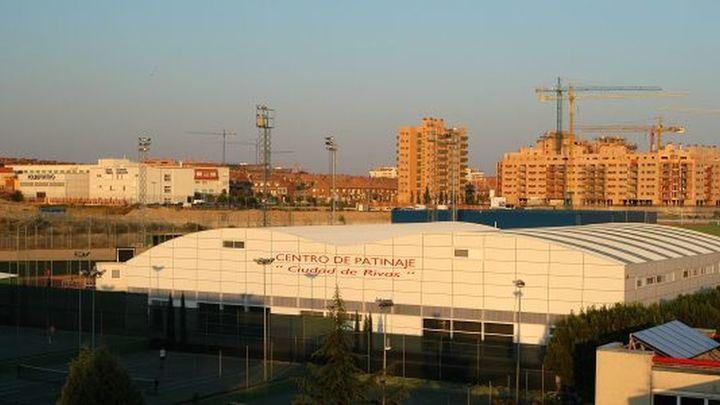 El polideportivo Cerro del Telégrafo de Rivas, listo para ser sede de vacunación en el sureste de Madrid