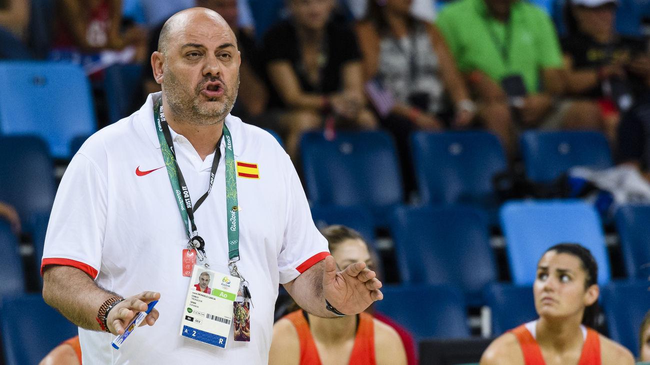 Lucas Mondelo, cesado como seleccionador femenino de baloncesto