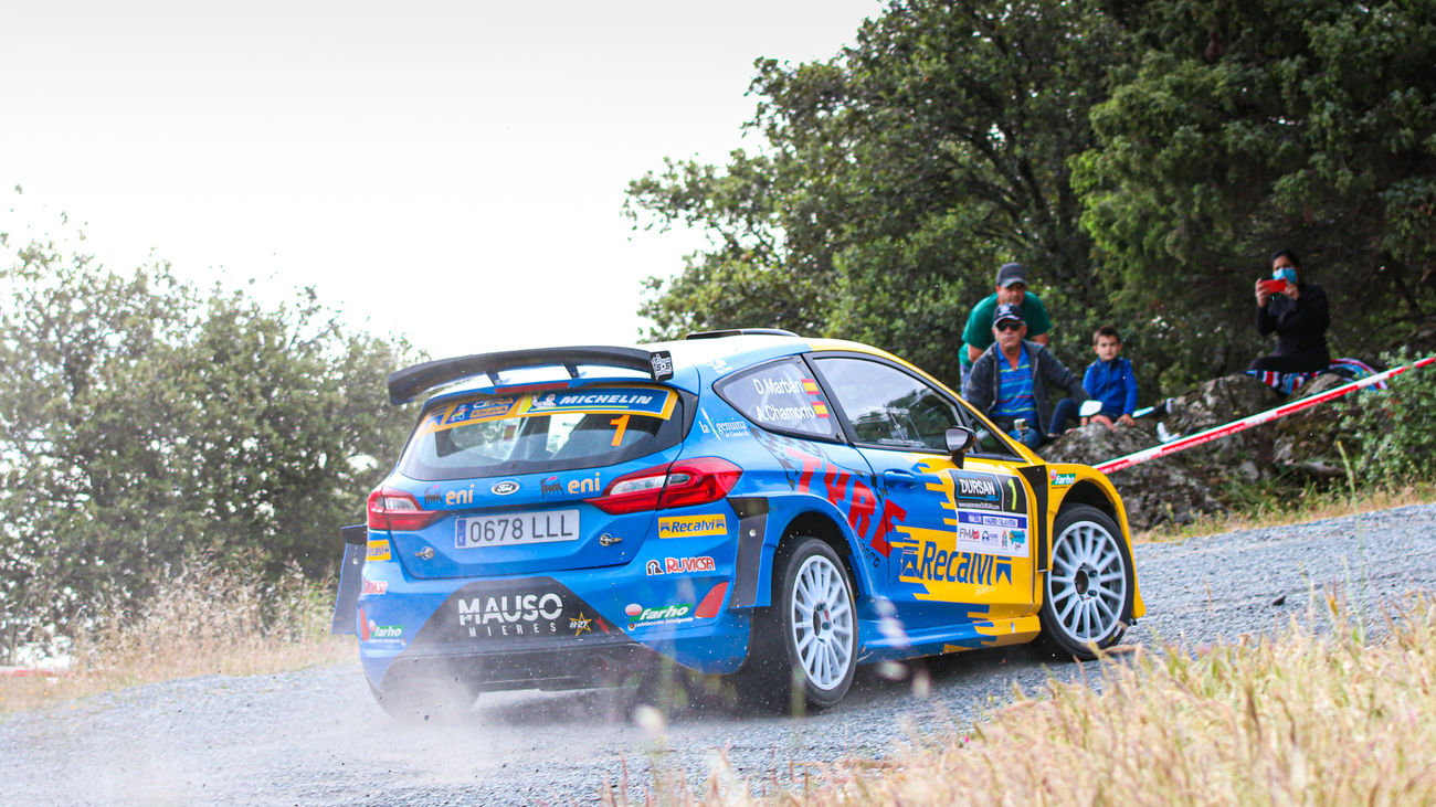 Dani Marbán gana el Rally Madrid-Talavera