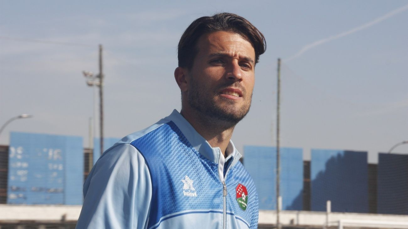 Víctor González, gambito del CD Móstoles URJC