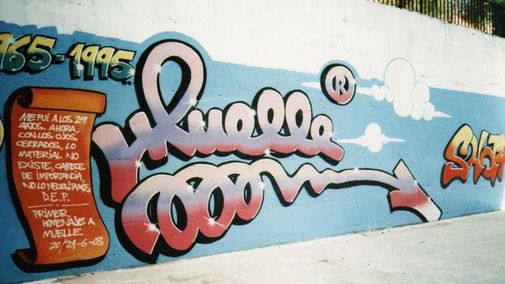 Muelle, el primer grafitero español, recauda 78.750 euros y entra en el Museo de Arte Contemporáneo de Madrid