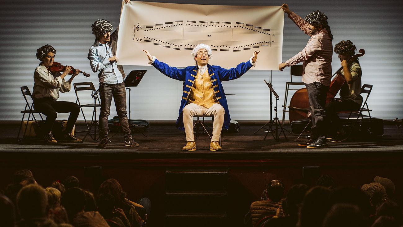 'El pequeño Mozart' vuelve este domingo al Teatro Lara y se prorroga hasta finales de julio