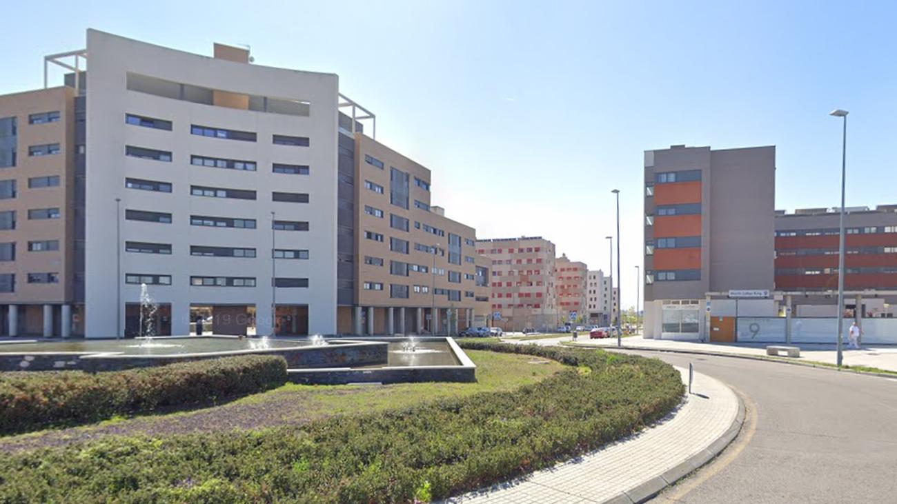 Aveida en el Ensanche Sur de Alcorcón
