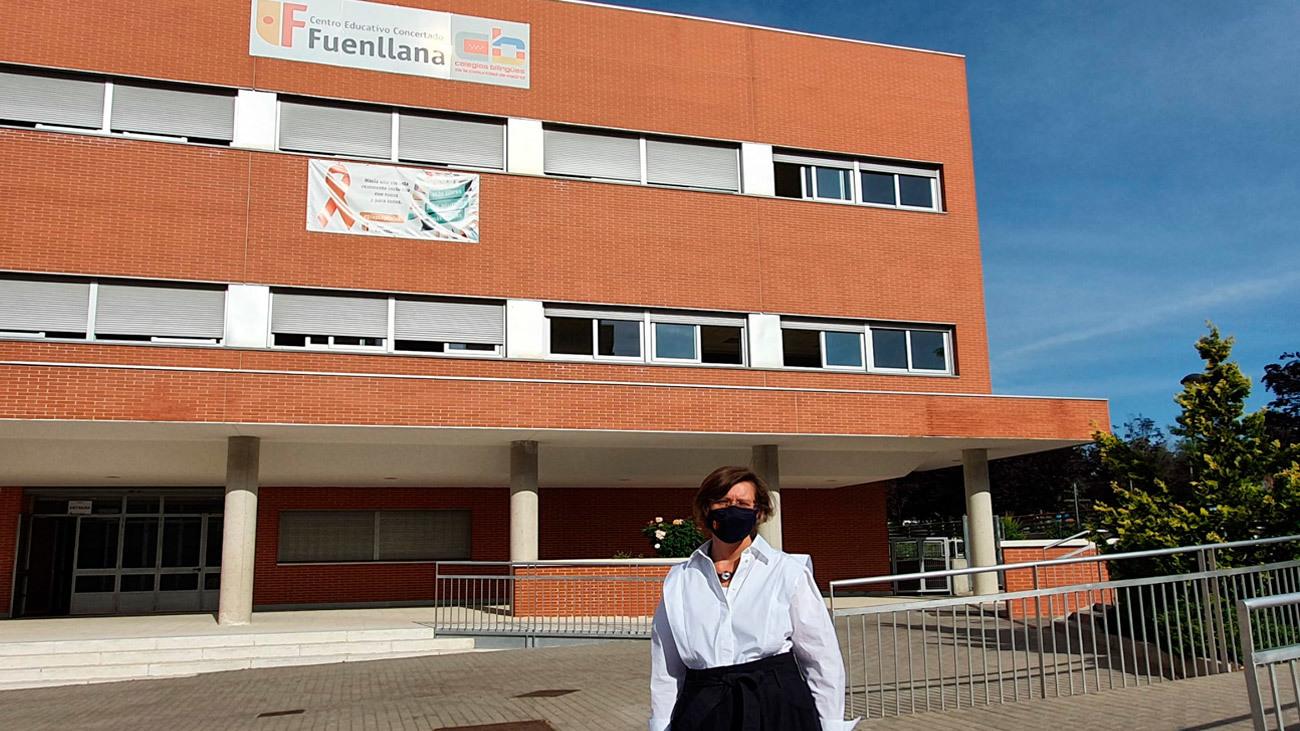 María Ruiz Sánchez, directora del colegio Fuenllana de Alcorcón