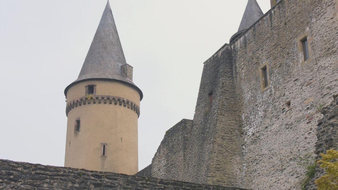 El impresionante castillo que pertenecía a los condes de Vianden, en Luxemburgo