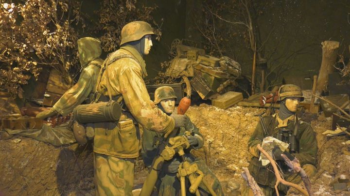 El museo militar de Diekirch, uno de los mejores de Luxemburgo