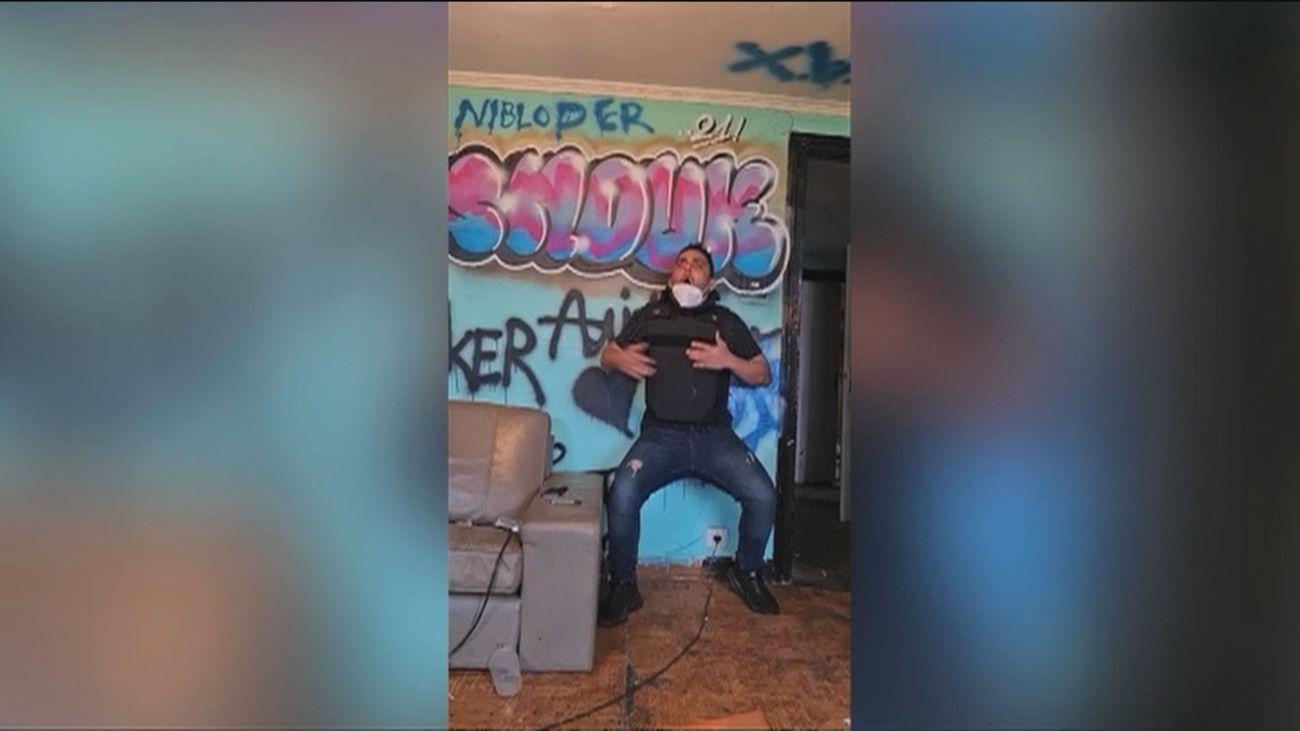 Detenido un joven en Santurce tras disparar a un amigo con un chaleco antibalas
