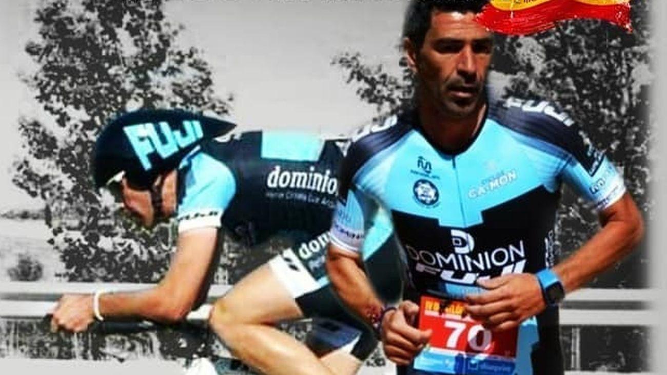 El doble reto titánico de un triatleta de Boadilla del Monte