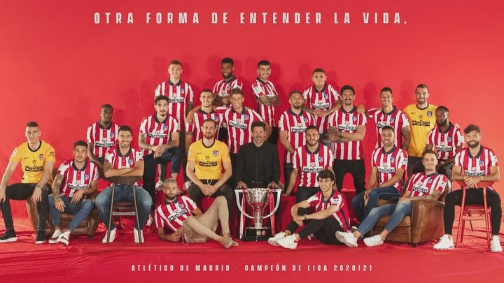 Atlético de Madrid, campeón de Liga