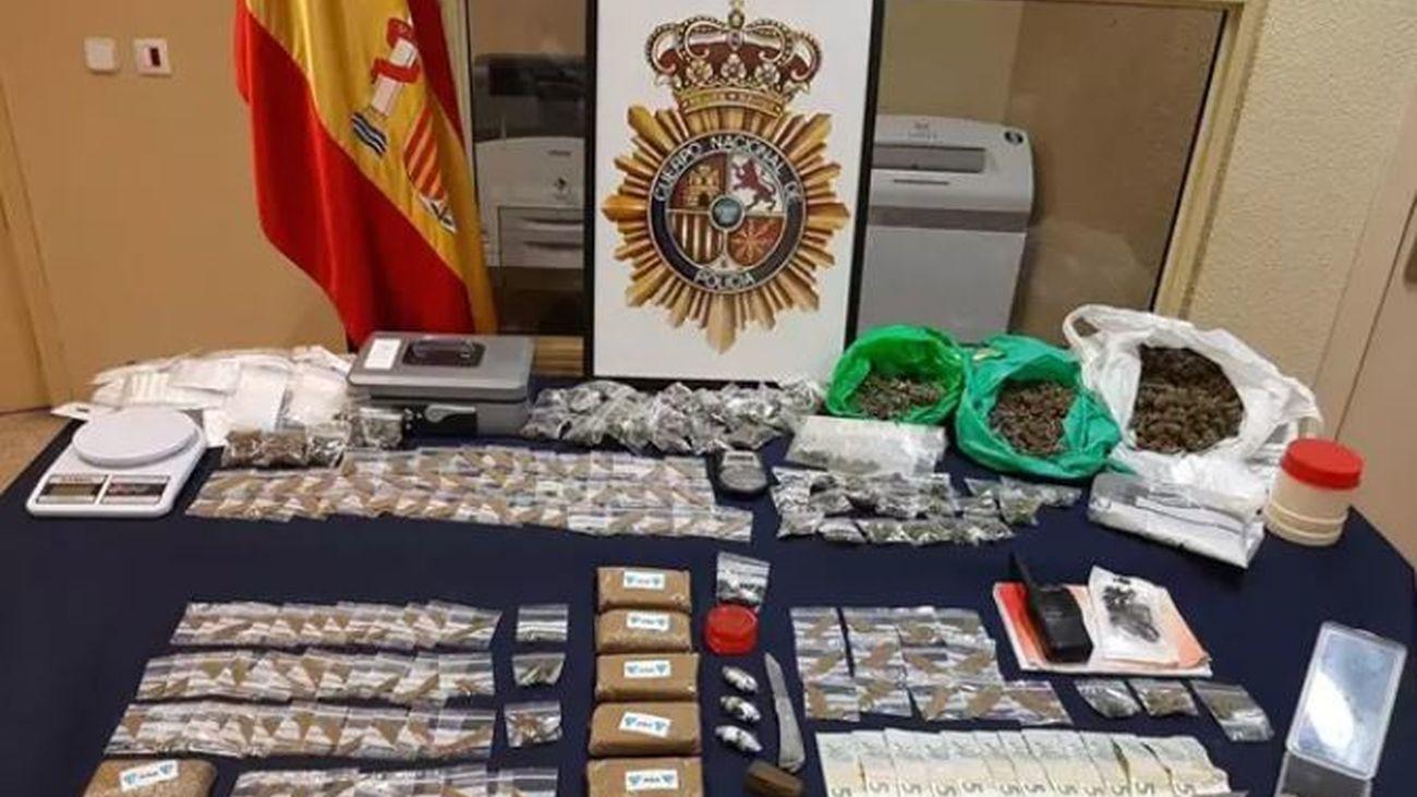 Desmantelan un narcopiso en Villaverde por segunda vez en dos meses