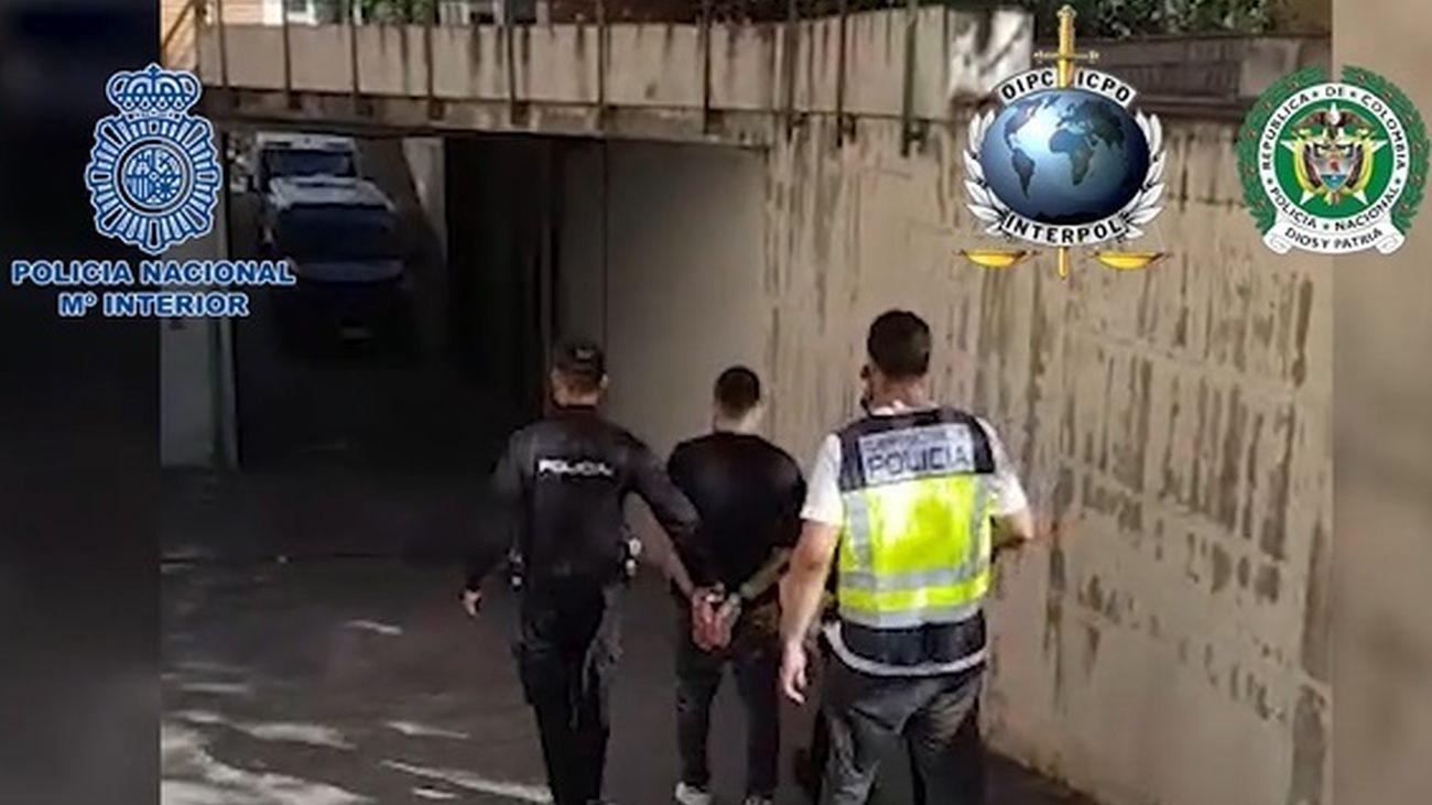 Detenido en Madrid un sanguinario sicario colombiano acusado de 100 homicidios