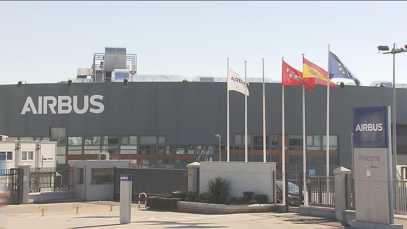 Planta de Airbus en Getafe