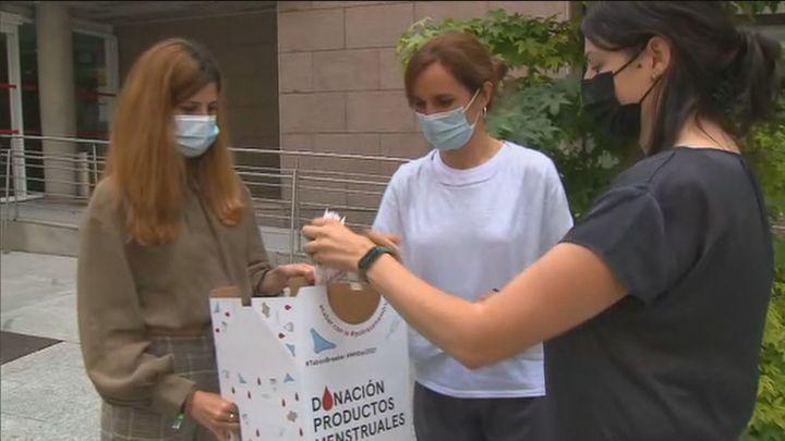 Más Madrid pide que se den gratis artículos de higiene a mujeres con pobreza menstrual