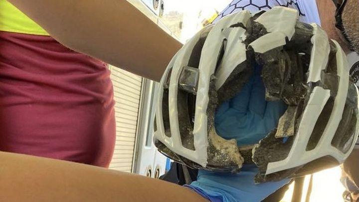 Un ciclista de 51 años sufre politraumatismos tras caer de un terraplén de 30 metros en Tielmes