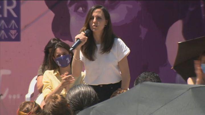 """Belarra: """"Un Podemos fuerte llevará Yolanda Díaz a la presidencia del Gobierno"""""""