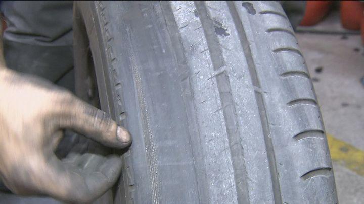Unos 1,5 millones de vehículos circulan por España los neumáticos en mal estado