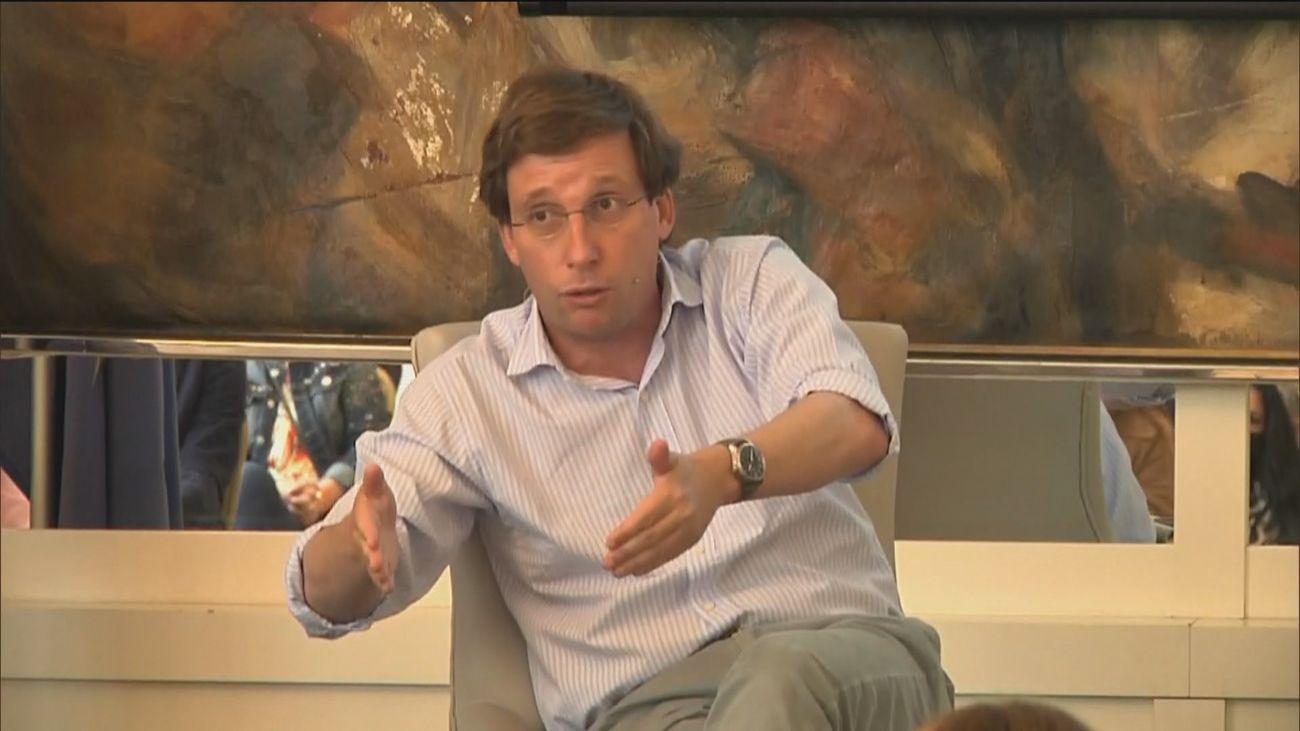 El portavoz nacional del PP y alcalde de Madrid, José Luis  Martínez-Almeida