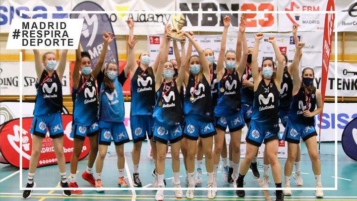 Estudiantes, campeón de Madrid cadete femenino e invicto