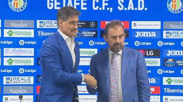 """Michel: """"El Getafe seguirá siendo un equipo agresivo y que sepa defender"""""""
