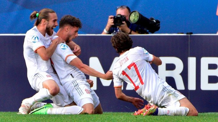 2-1. España se clasifica para las semifinales del Europeo sub'21