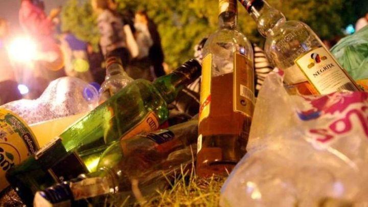 Récord de multas por botellón en Madrid en el último fin de semana de mayo