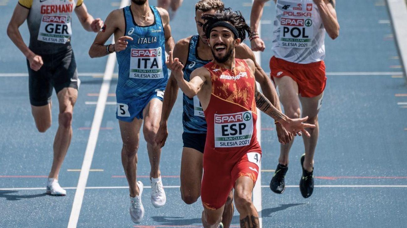 Quinto puesto de España en el Europeo de atletismo
