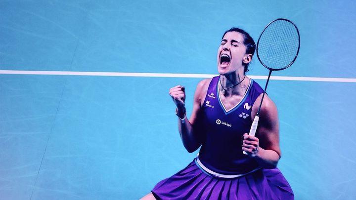 Carolina Marín se pierde  por lesión los Juegos Olímpicos de Tokio