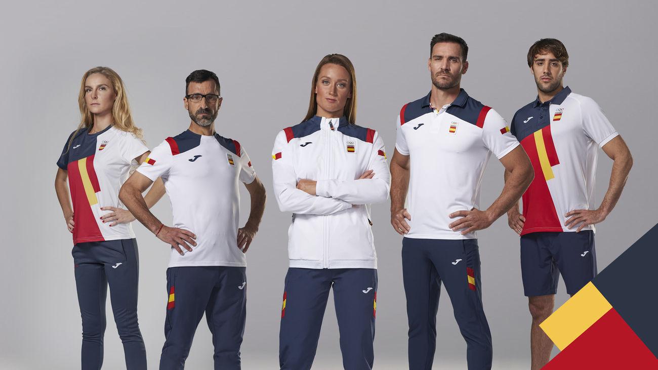 Se presenta la equipación del equipo olímpico español para los Juegos de Tokio