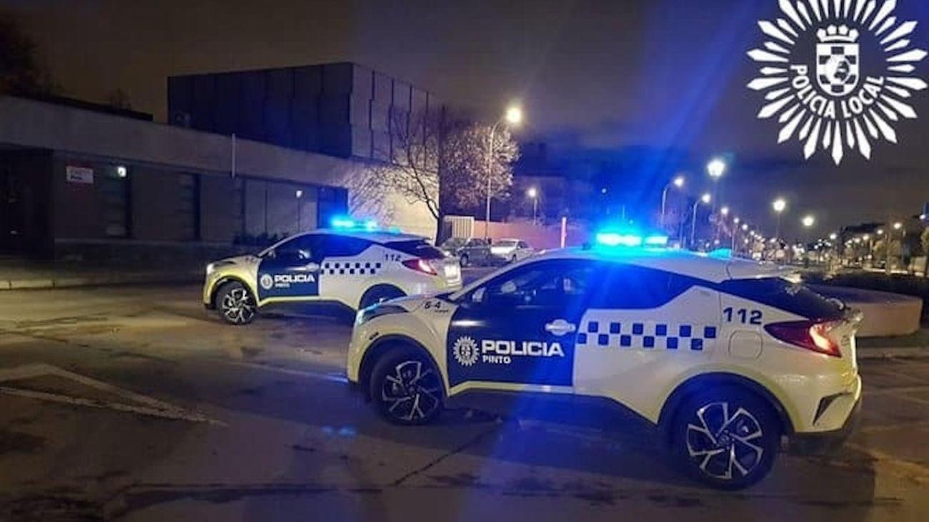 Coches de la Policía Local de Pinto