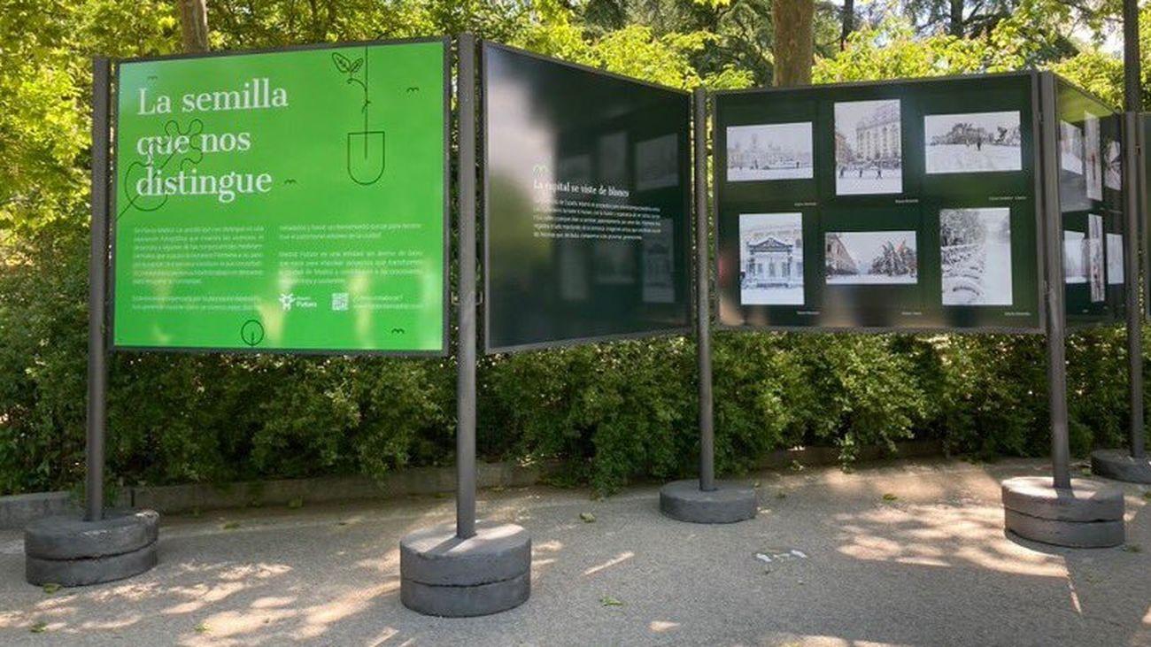 Exposición en el Retiro de Replanta Madrid