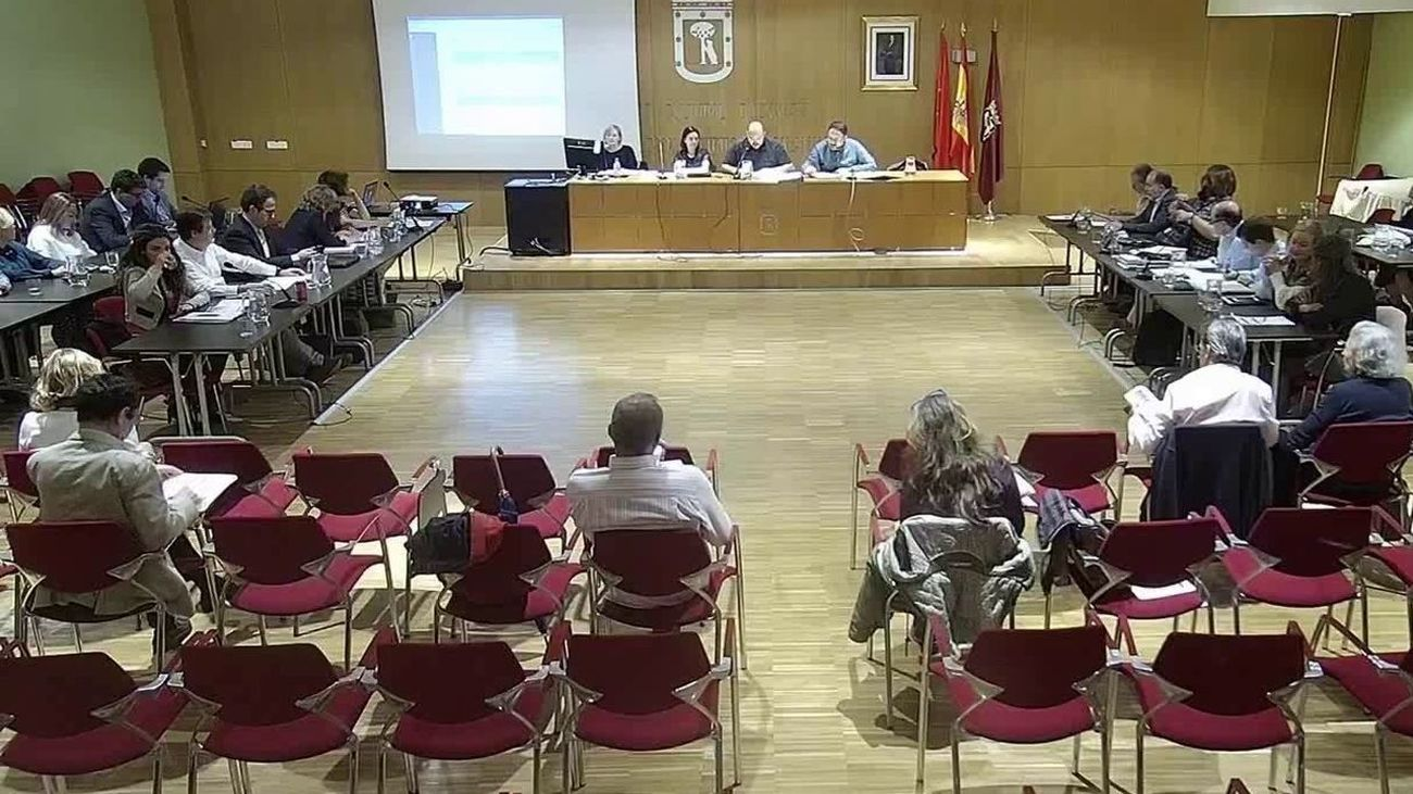 Pleno de la Junta Municipal de Distrito de Salamanca