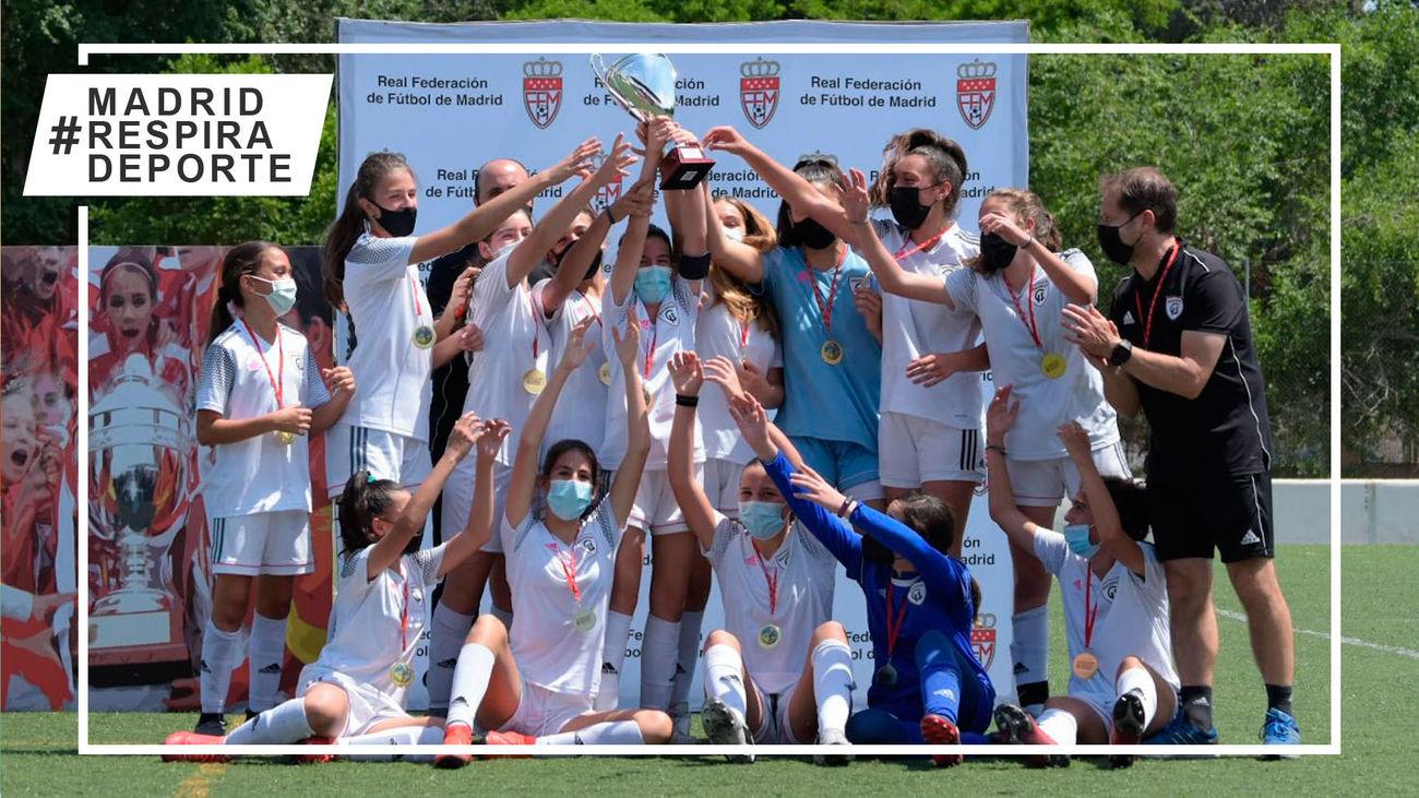 Triplete de Madrid CFF en las finales femeninas del Torneo de Campeones de Fútbol 7
