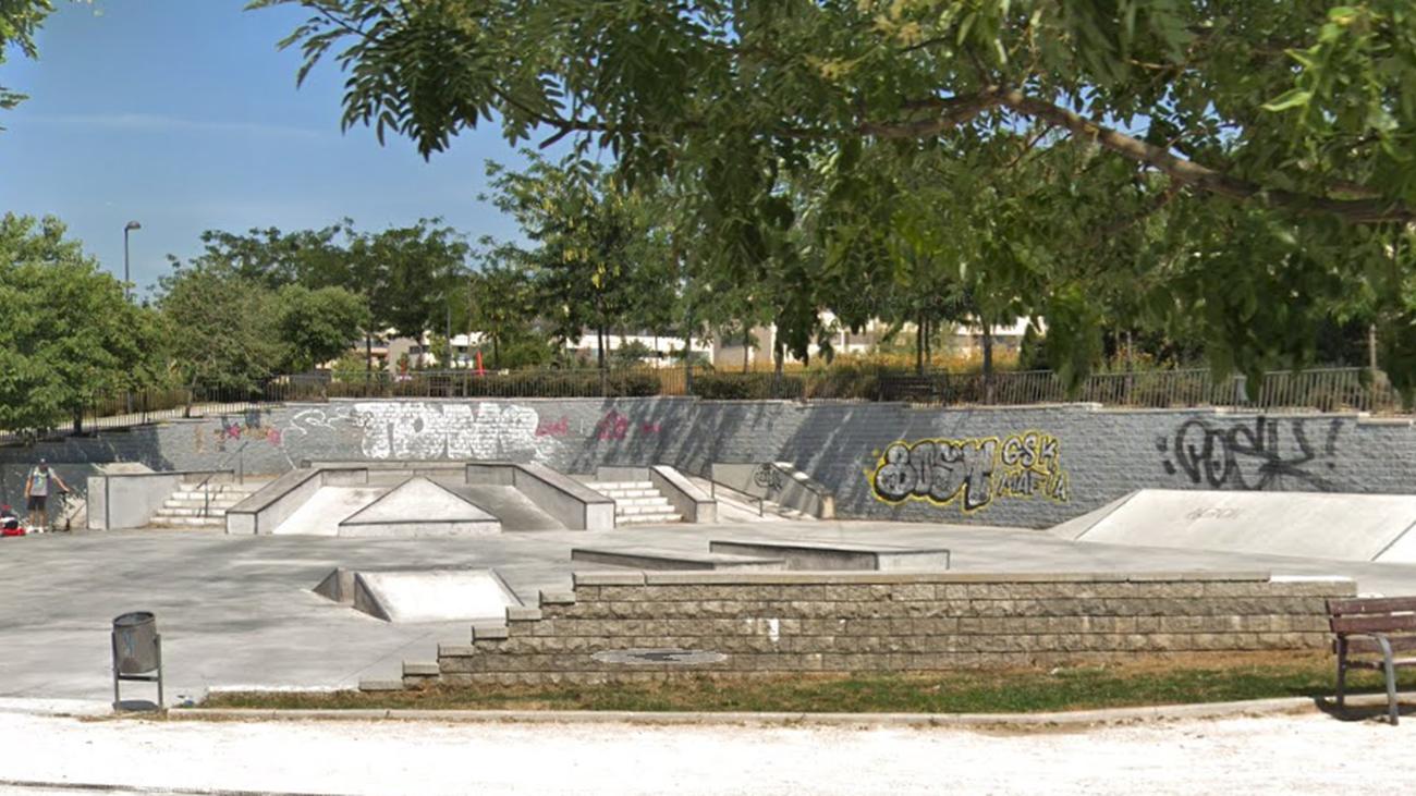 Pista del SkatePark de Móstoles