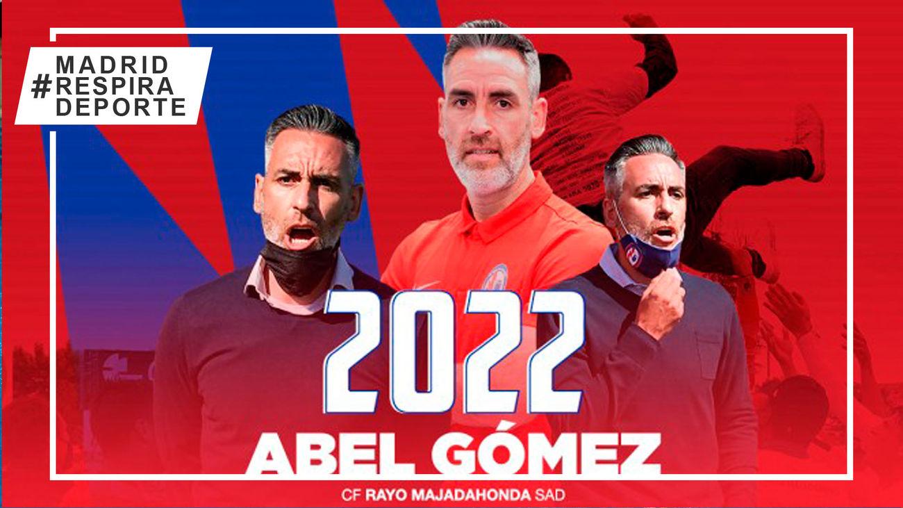 Abel Gómez renueva como entrenador del Rayo Majadahonda