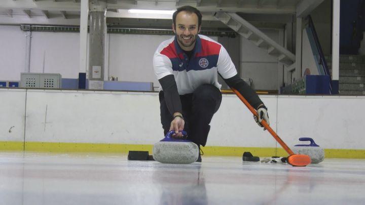 Una familia de Valdemoro, 'contagiada' por el curling