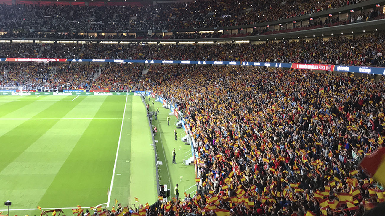 Un máximo de 15.000 espectadores podrán acudir al España-Portugal en el Wanda