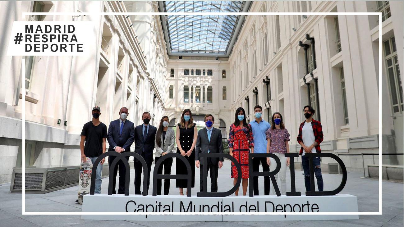 Madrid celebra ser Capital Mundial del Deporte 2022