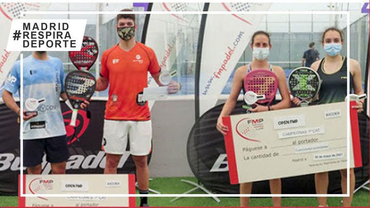 Mesa-Jensen y Huete–Fernández, campeones del Open FMP de pádel