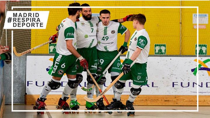 El Alcobendas se jugará ante el Vendrell ascender a la máxima categoría del hockey patines