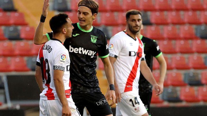 3-0. El Rayo golea al Leganés y encarrila la eliminatoria de ascenso a Primera