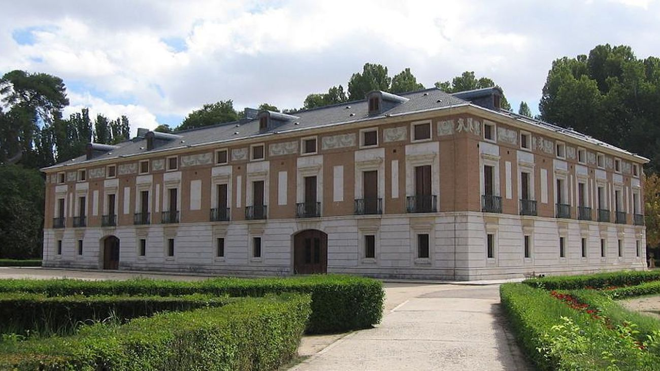 Exterior de la Casa del Labrador, en el Real Sitio de  Aranjuez
