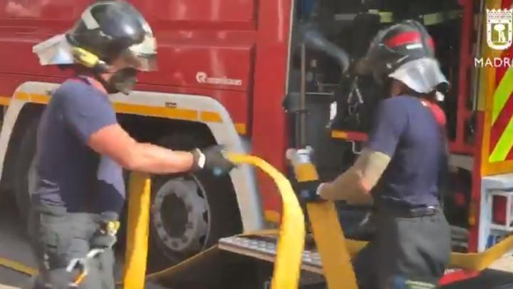 Controlado un incendio de pasto sin heridos en el sector 6 de la Cañada Real