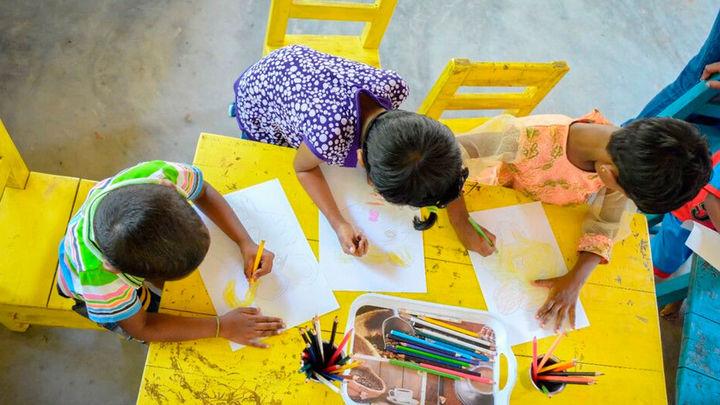 Think Equal el proyecto de Gomaespuma para formar a niños madrileños en igualdad, empatía y pensamiento crítico