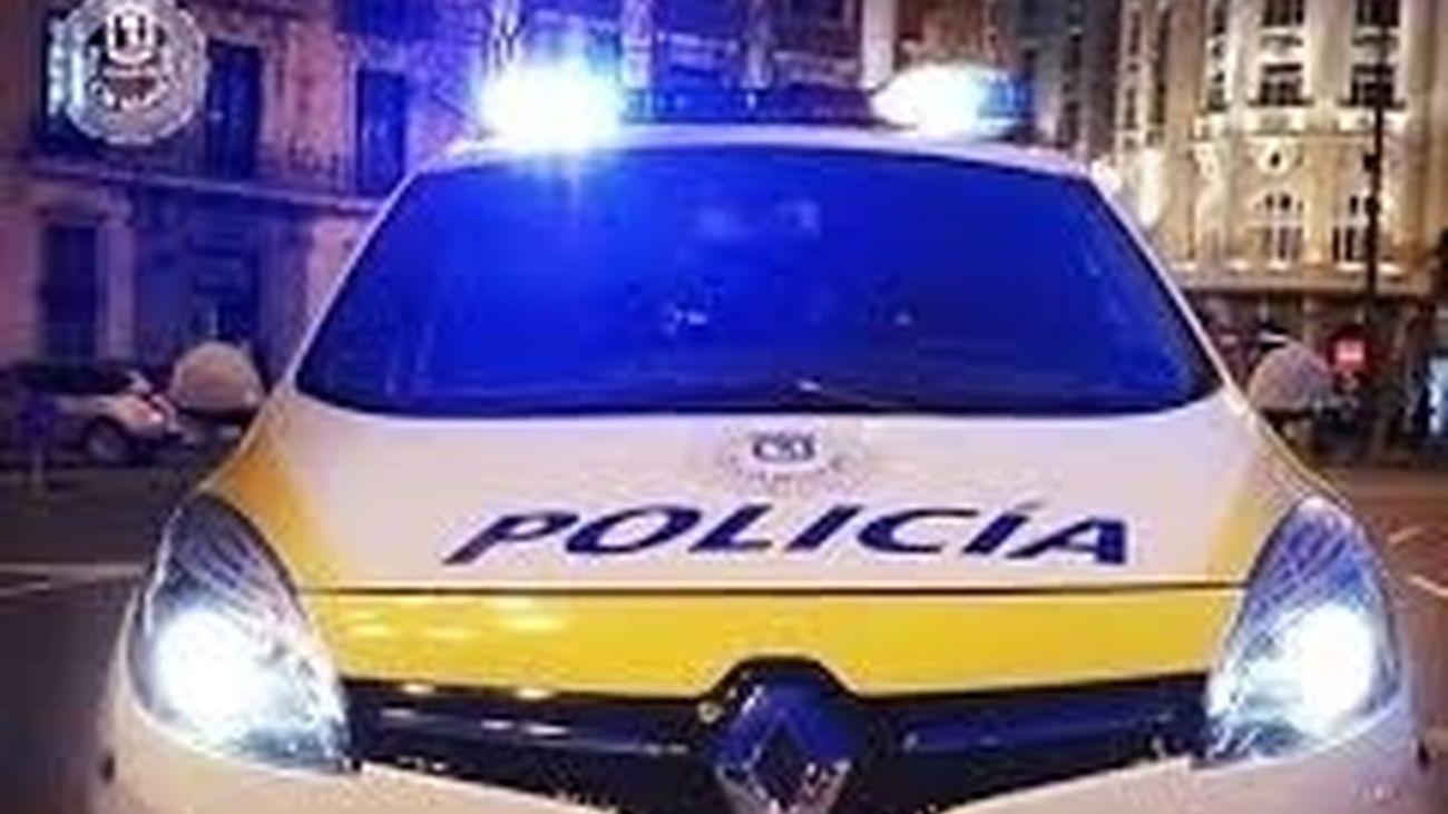 Vehículo de la Policía Municipal de Madrid